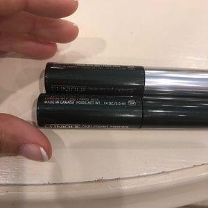 2 Clinique travel size mascaras